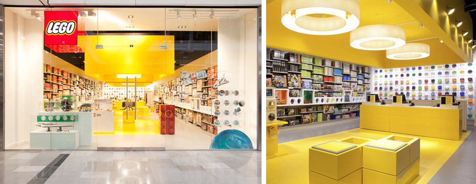 Shopfitters contract: documenting the Lego Store in Westfield