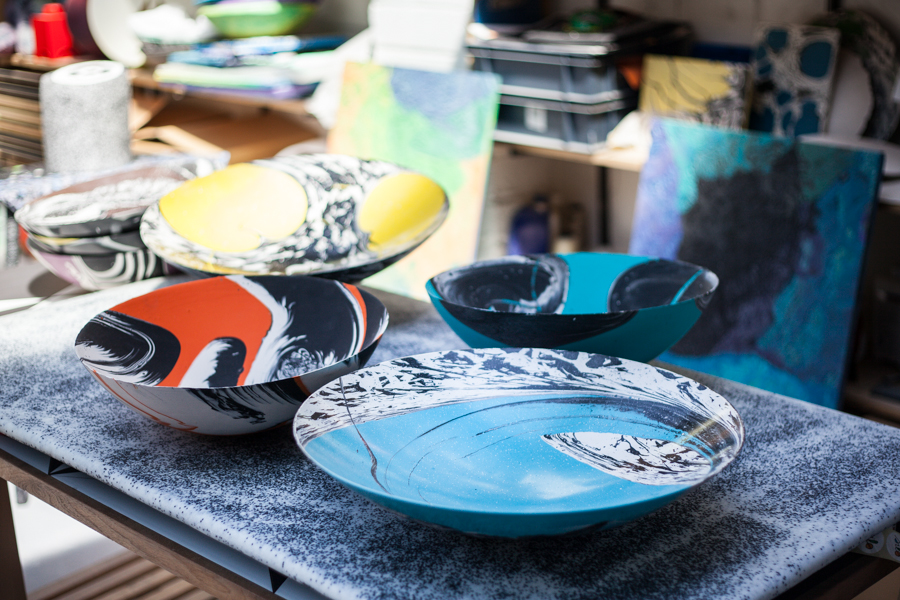 1 Object / 1 Portrait interview of Silo Studio: Newton's Bucket dishes and the adapted potter's wheel © Amandine_Alessandra